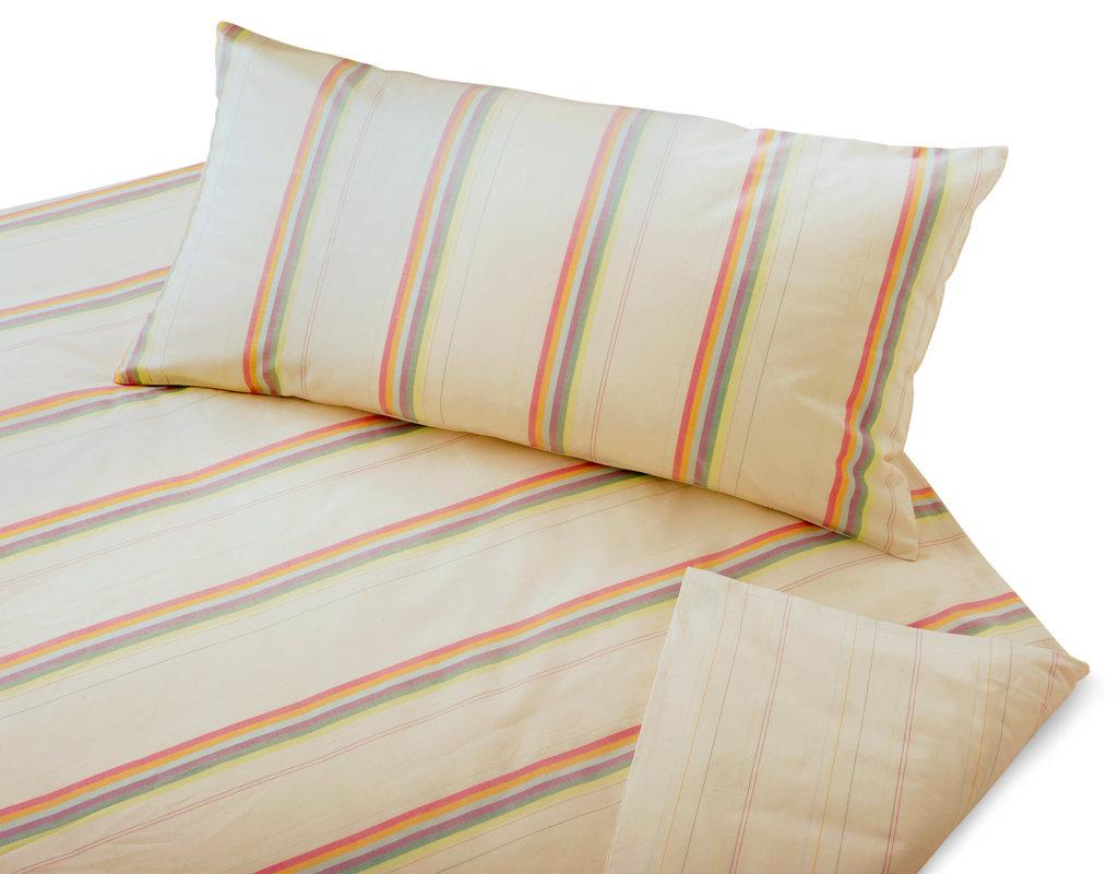 bio bettw sche edel linon streifenmuster gewebt cotonea. Black Bedroom Furniture Sets. Home Design Ideas