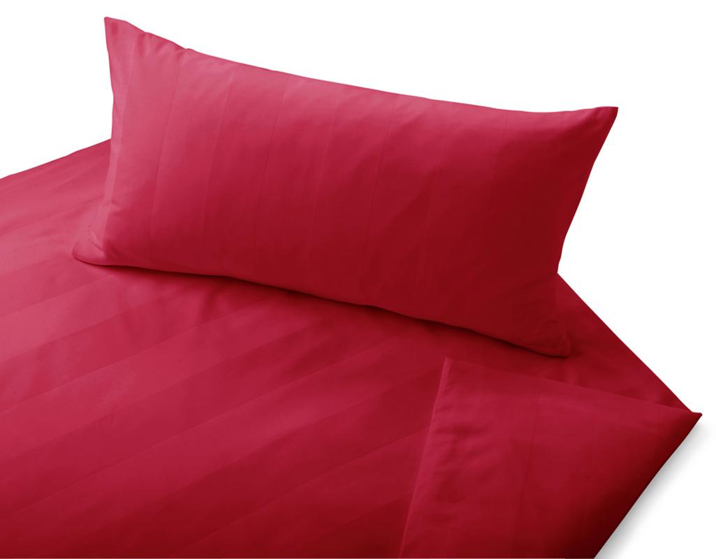 bio bettw sche aus satin mit streifenmuster cotonea. Black Bedroom Furniture Sets. Home Design Ideas