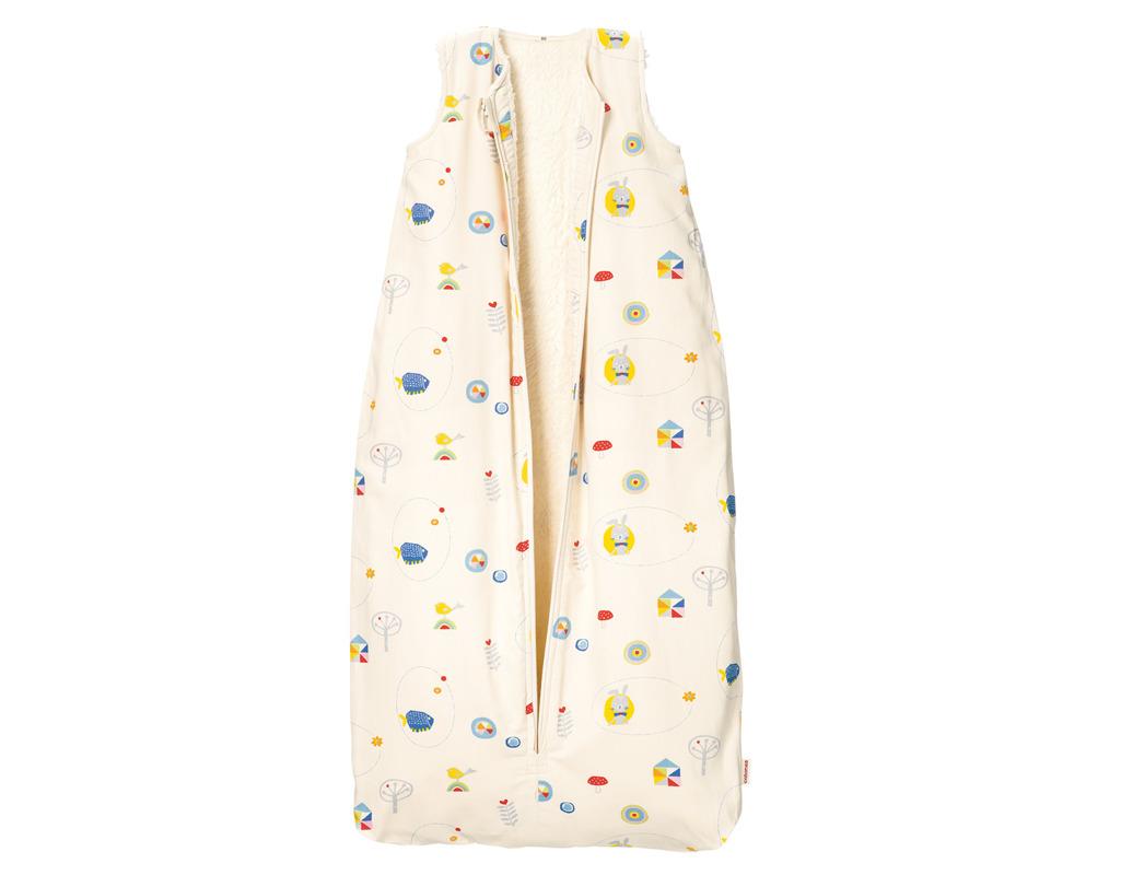 ea971b24a4 Kinder/Baby Schlafsack mit Bio Flanellfutter Wald-Motive | Cotonea